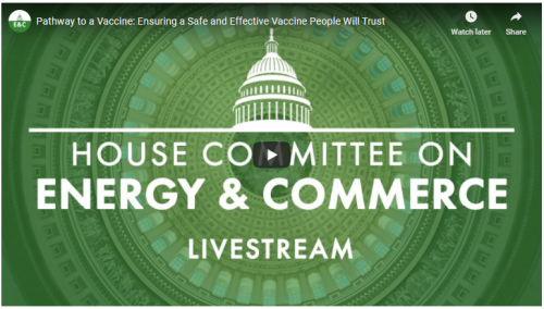 House Energy and Commerce hearing